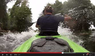 Vidéo kayak descente de la sèvre niortaise d'Exoudun à Niort
