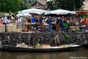 barque-ciment-marché-sur-leau-marais-poitevin