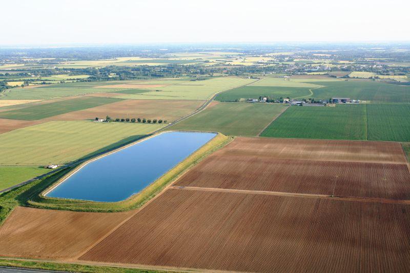 Bassine d'eau de la Chicane