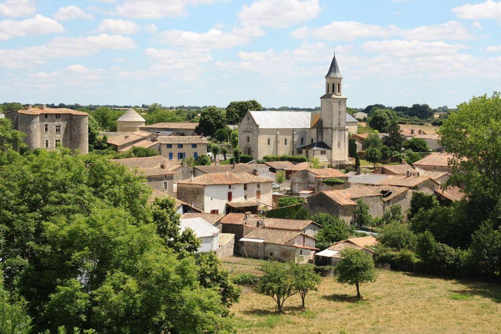 Village d'Exoudun - Deux Sèvres