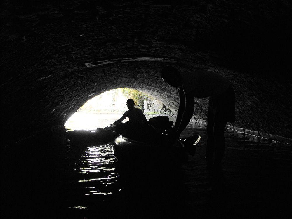 Sèvre niortaise Passage souterrain ancienne chamoiserie