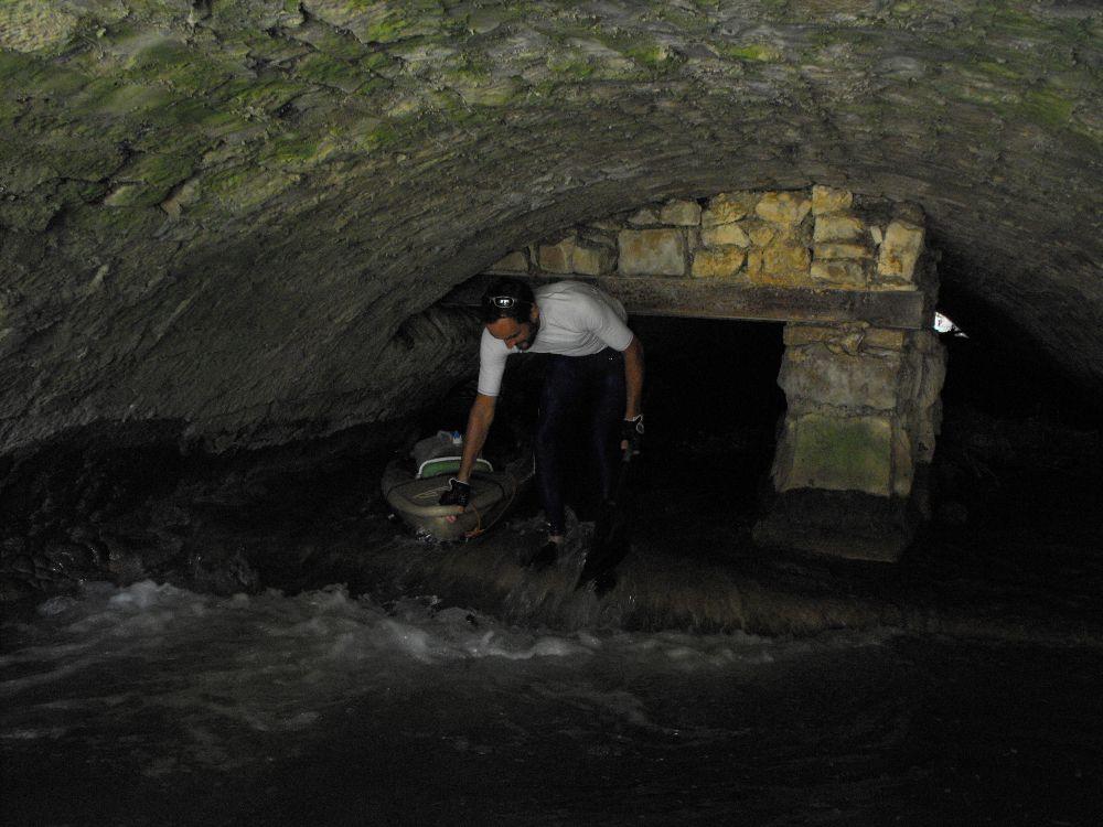 Sèvre niortaise sortie du souterrain propriété barny
