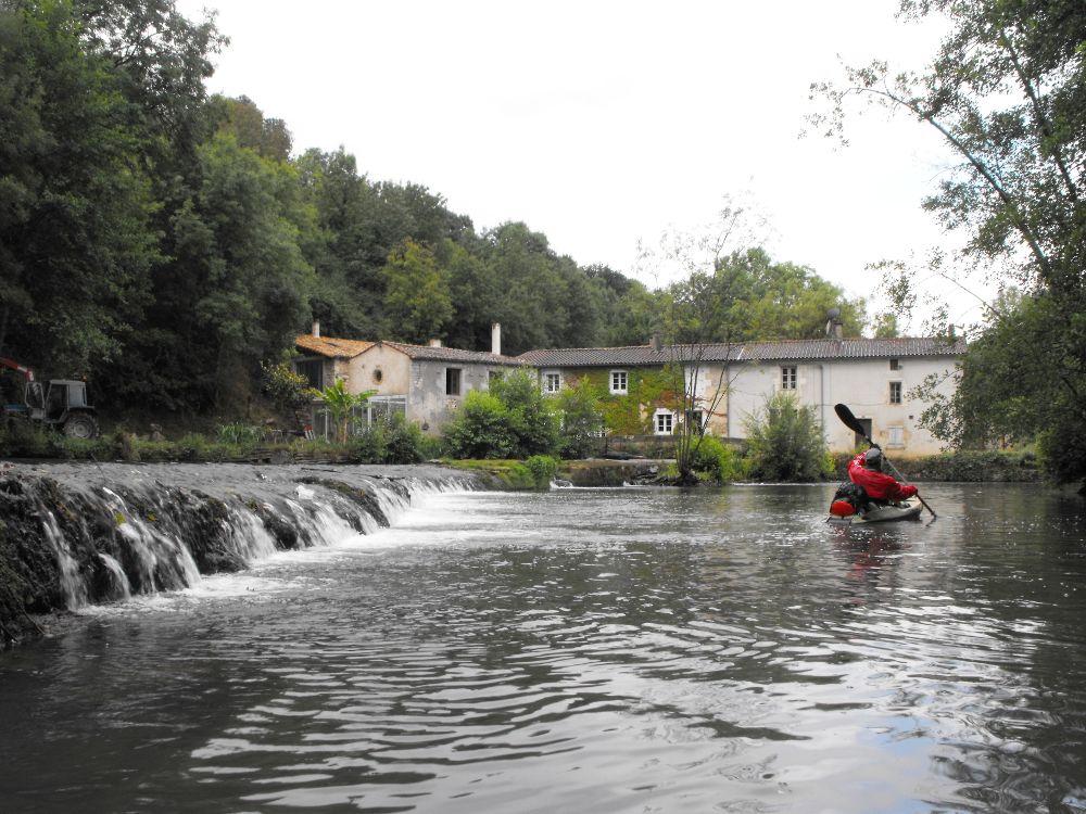 Moulin de Veillon sur la Sèvre niortaise
