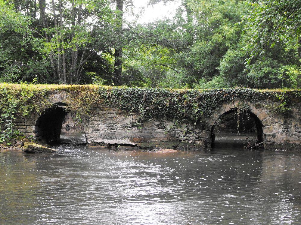 Pont sur la Sèvre niortaise près du Grand Moulin