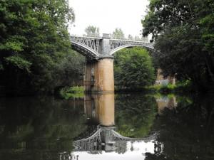 Pont chemin de fer entre Saint Gelais et Chalusson