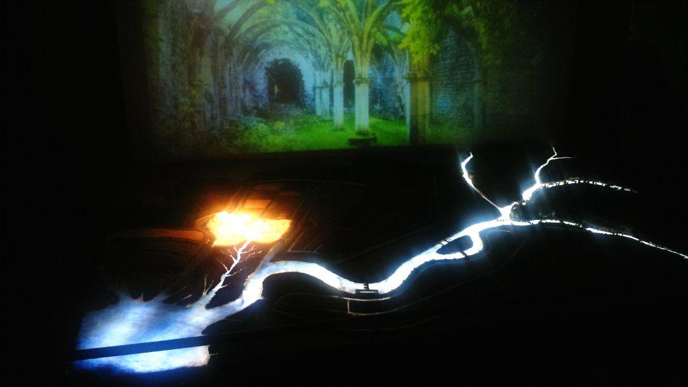 Salle de projection du Maraiscope - Maison du Marais Poitevin à Coulon