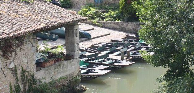 Embarcadères pour visiter le Marais Poitevin