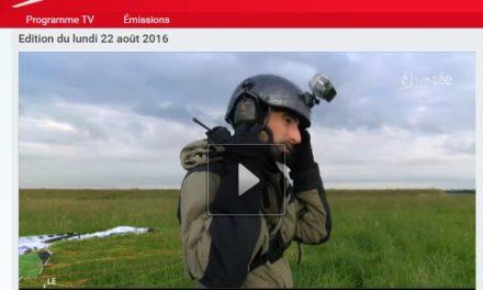 Reportage TV Vendée – Le Marais Poitevin en paramoteur