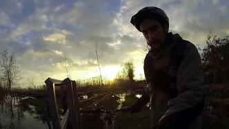 crue février 2016 vélo marais poitevin