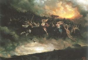 légendes de la chasse galery marais poitevin