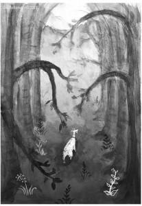 Légende de la ganipote dans le marais poitevin
