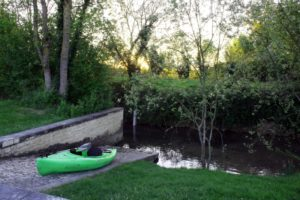 kayak blog marais poitevin port goron amuré