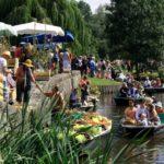 Marché sur l'eau au Vanneau-Irleau