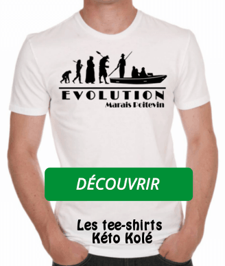 Boutique Kéto Kolé Tee-shirt Evolution Marais Poitevin