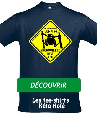 Tee-shirts Jumping Grenouilles