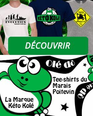 Boutique kéto kolé tee shirts du Marais Poitevin