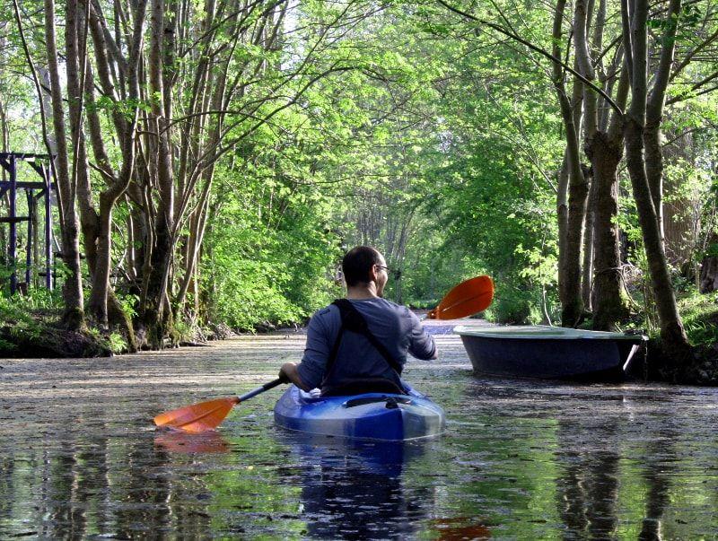 St-Georges-de-Rex et Amuré en kayak