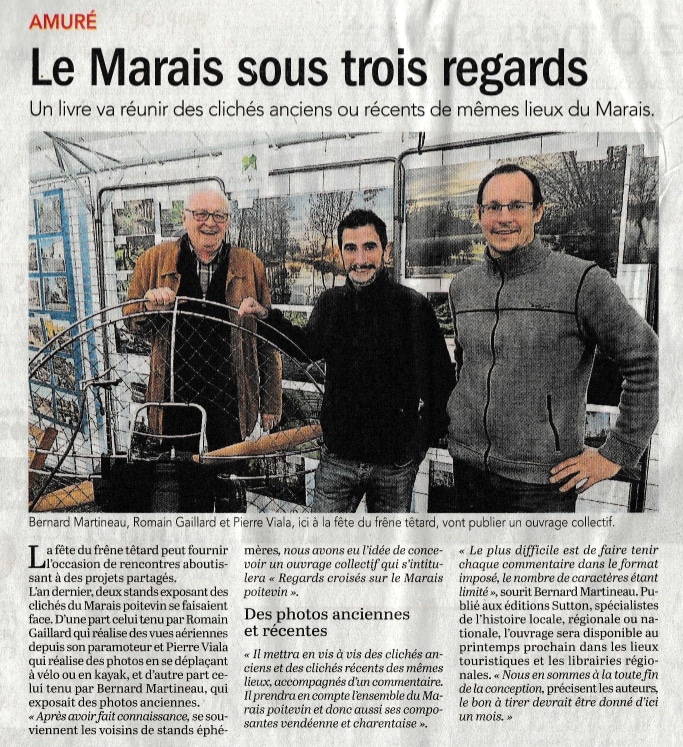 Article le Courrier de l'Ouest 16 novembre 2017