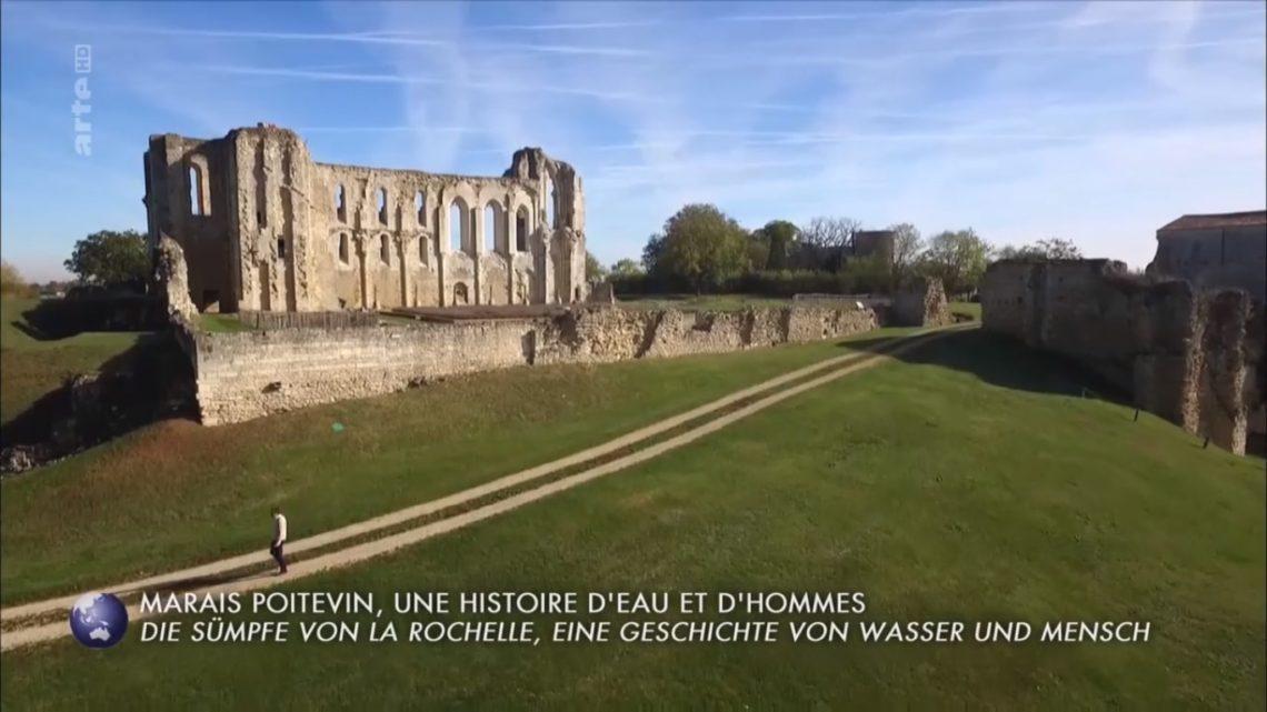 Arte Invitation au voyage Marais Poitevin Abbaye de Maillezais