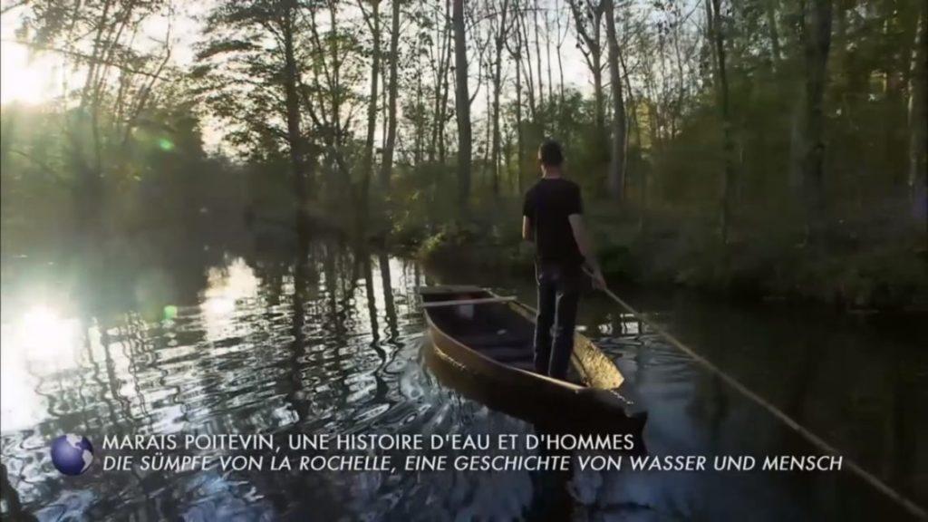 Arte Invitation au voyage Marais Poitevin Gaetan batelier