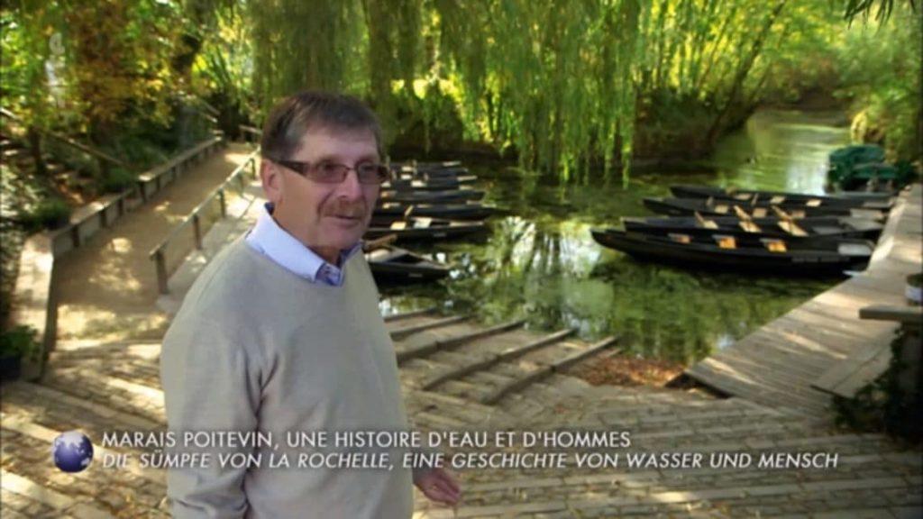 Arte Invitation au voyage Marais Poitevin Hervé Trichereau abbaye Maillezais