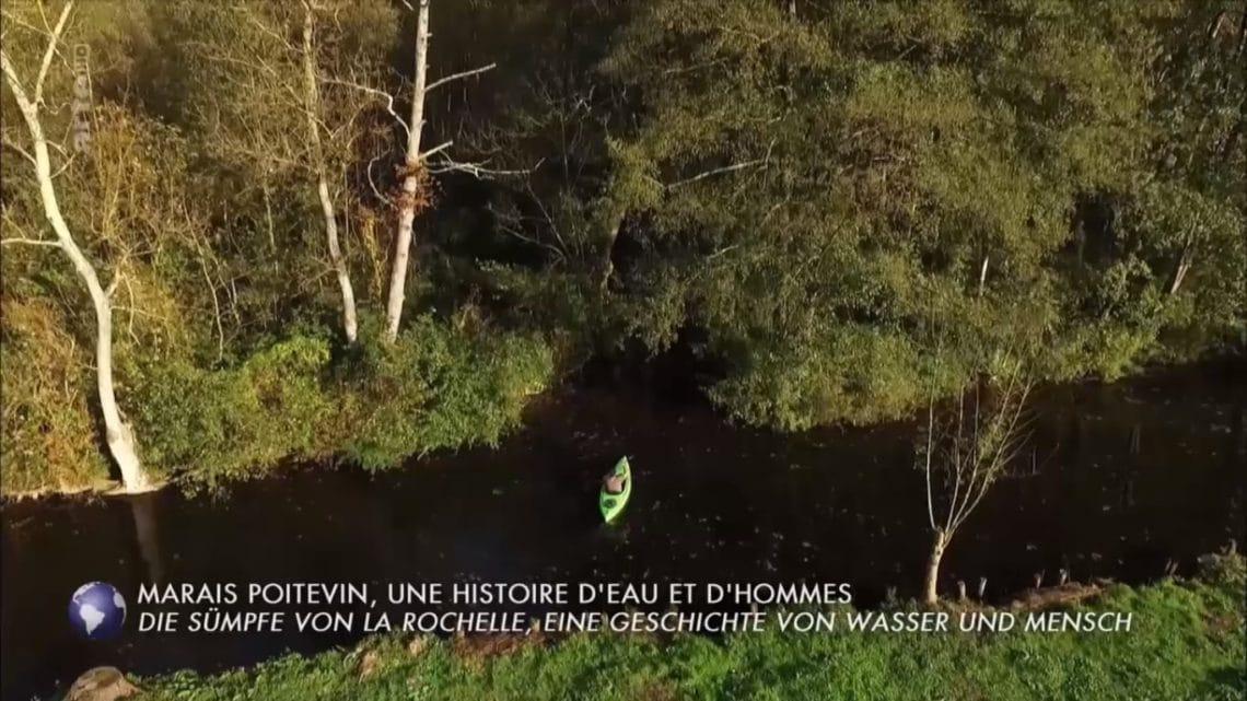 Arte Invitation au voyage Marais Poitevin Kayak La Garette