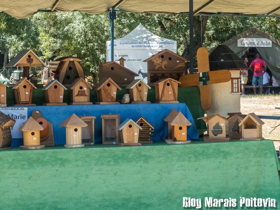 Fete du mijet coulon juillet 2018 fabrication cabanes oiseaux- 13