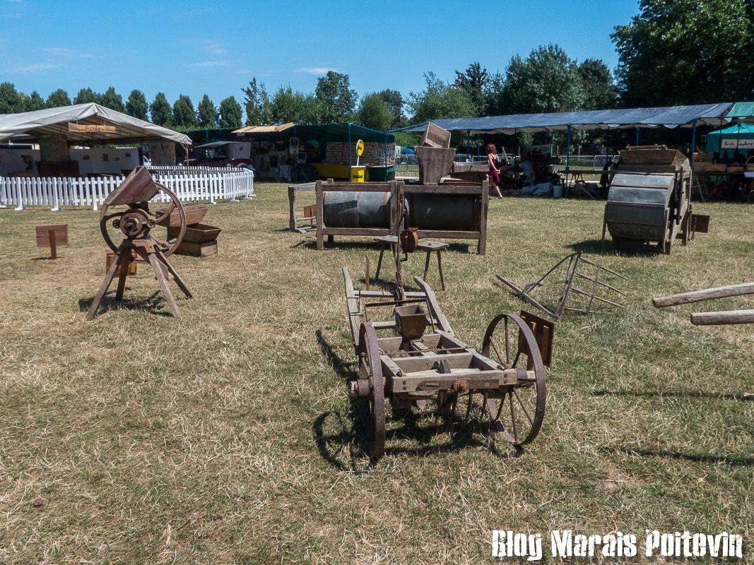 Fete du mijet coulon juillet 2018 vieux outils agricoles - 5