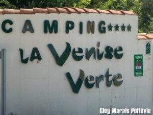 photo marais entrée camping venise verte coulon aout 2018
