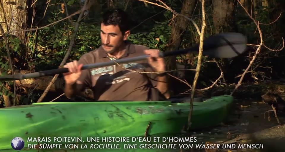 romain gaillard kayak marais poitevin
