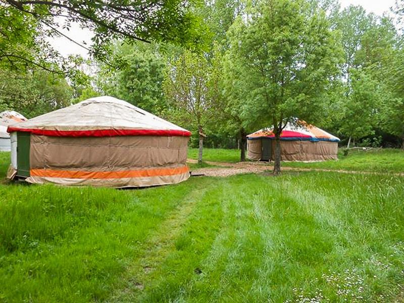 camping yourtes la frenaie marais poitevin