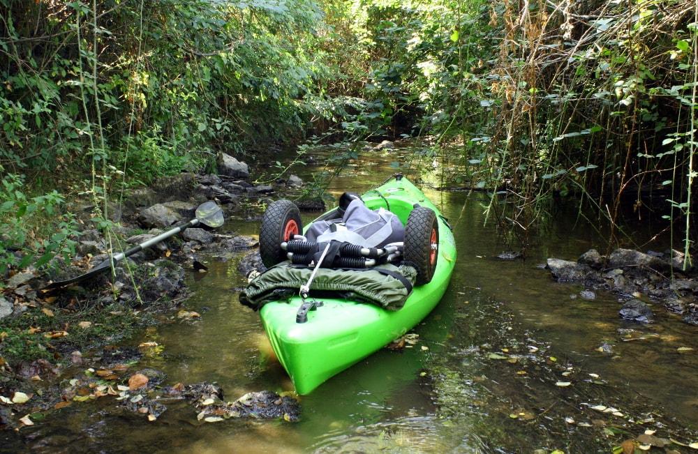 Randonnée aquatique en kayak sur la rivière Vendée