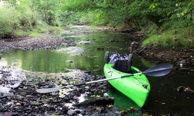 La rivière Vendée en kayak depuis ses sources jusqu'à Fontenay-le-Comte