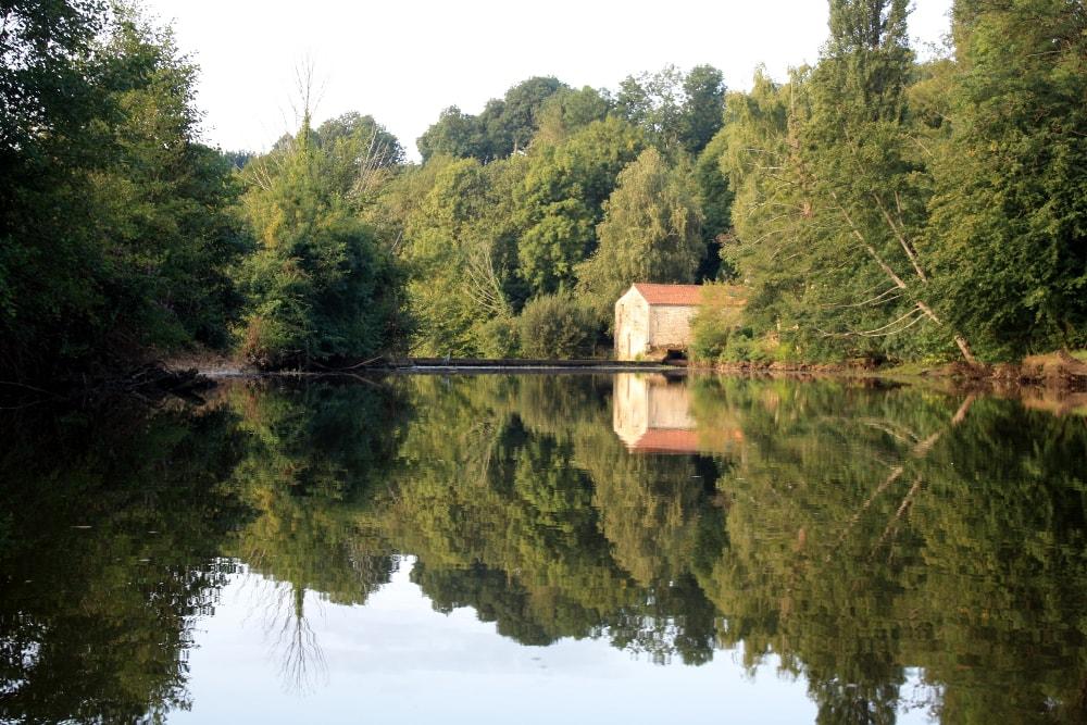 La rivière Vendée vers Le Moulin Charron