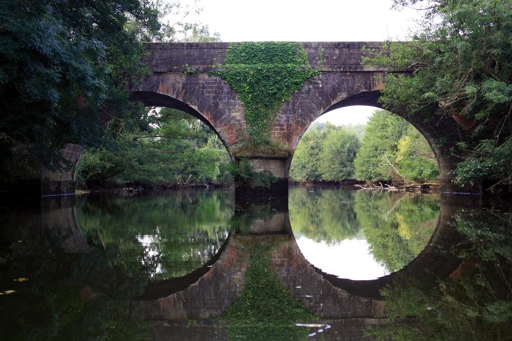 Le Pont de la route de Pilorge