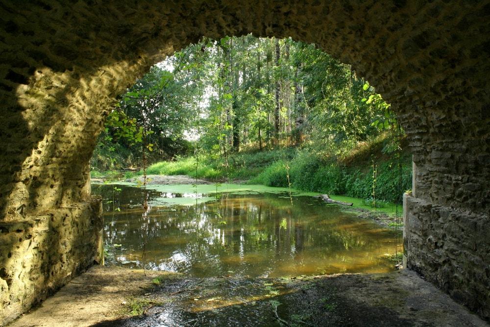 Sous le pont de Fleuriau