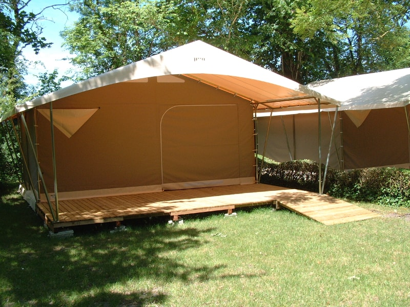 tente canada camping municipal bois dinot marais poitevin