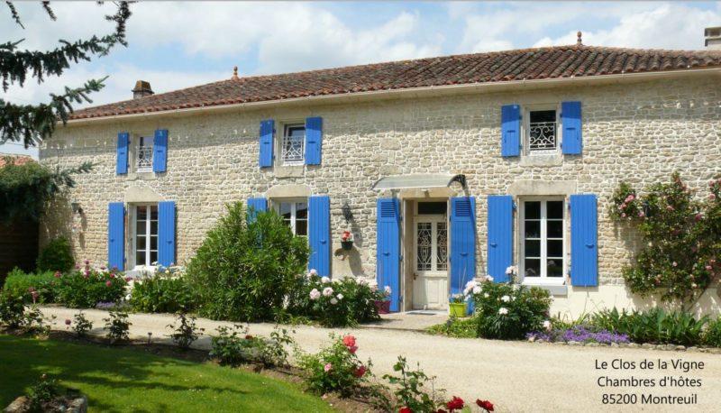 Chambres d'hôtes Le Clos de la Vigne dans le Marais Poitevin