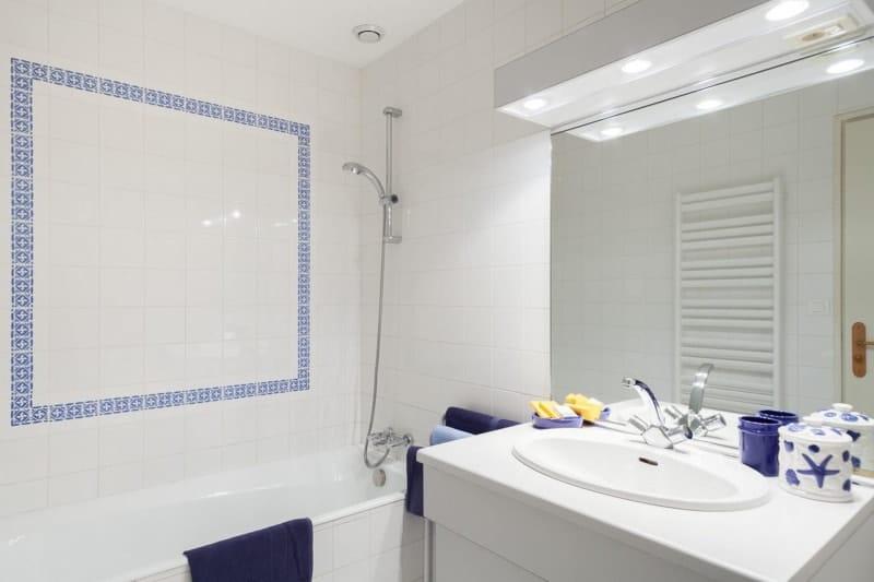 salle de bain Gîte de la gravée