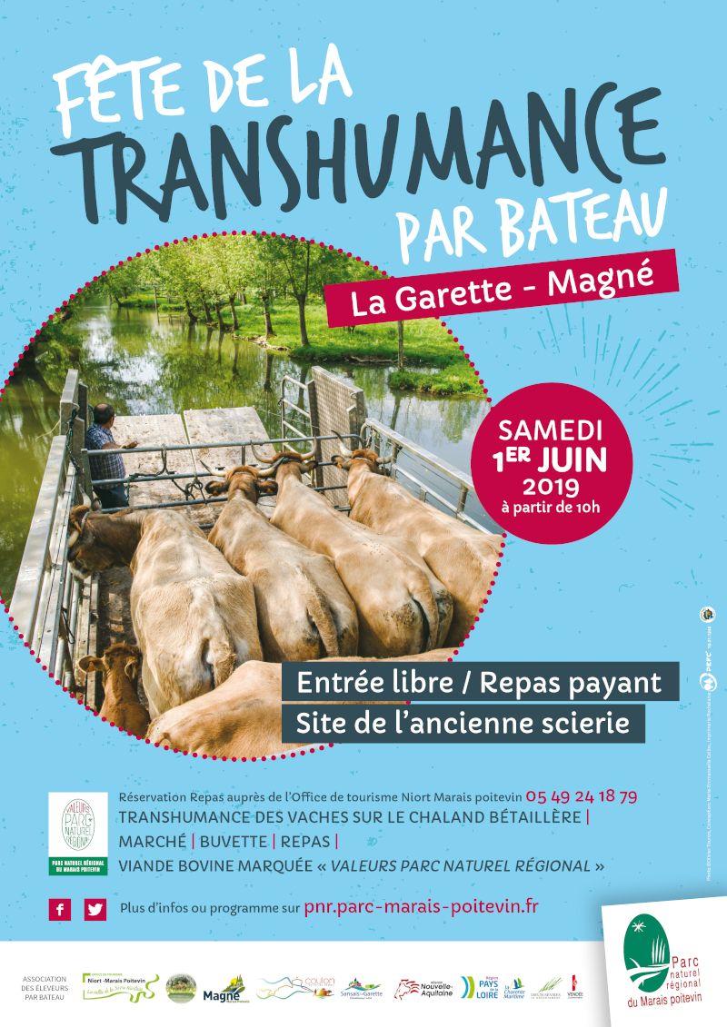 Affiche-Fete-transhumance-bateau-vaches-la-garette-juin-2019
