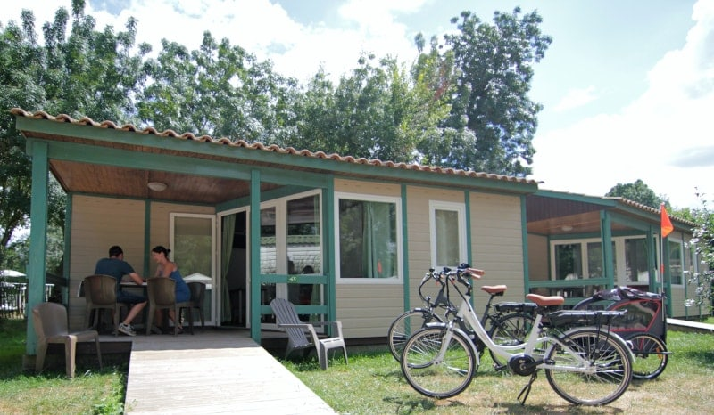 location chalet marais poitevin camping le lidon