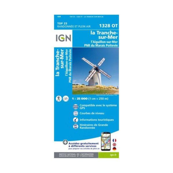 carte-ign-top-25-tranche-sur-mer-aiguillon-sur-mer