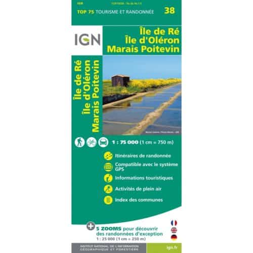 carte-ign-top-75-ile-re-ile-oleron-marais-poitevin