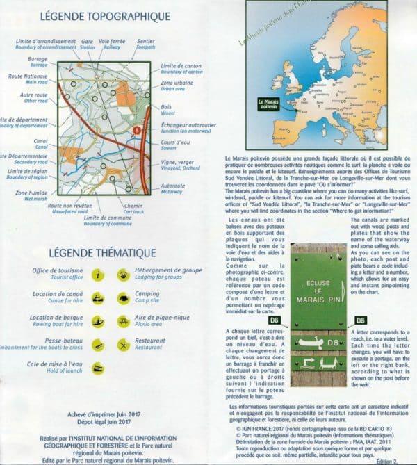 légende carte marais poitevin randonnée sur leau-min
