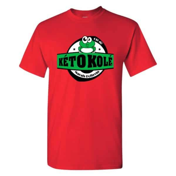 tee shirt kéto kolé rouge marais poitevin