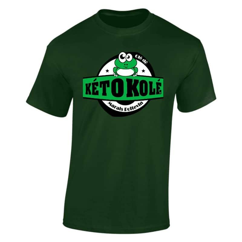 tee shirt vert kéto kolé marais poitevin