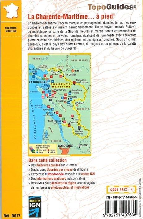 4ème de couverture La-Charente-Maritime-a-pied