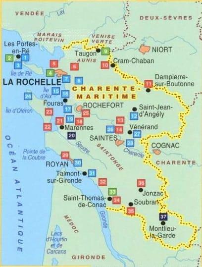 carte topo guide La-Charente-Maritime-a-pied