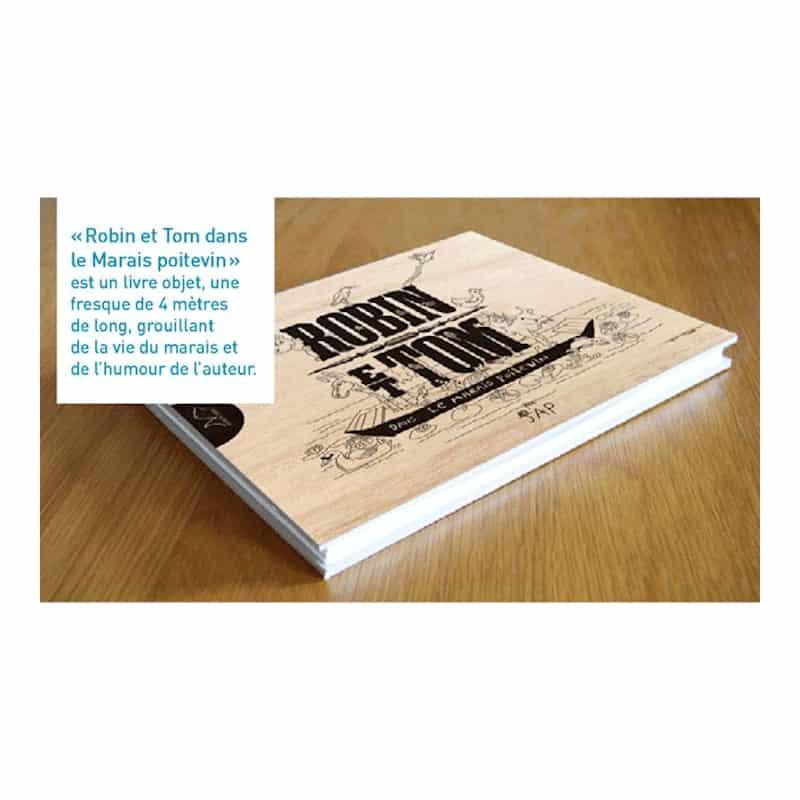 livre fresque julien auclair robin et tom dans le marais poitevin
