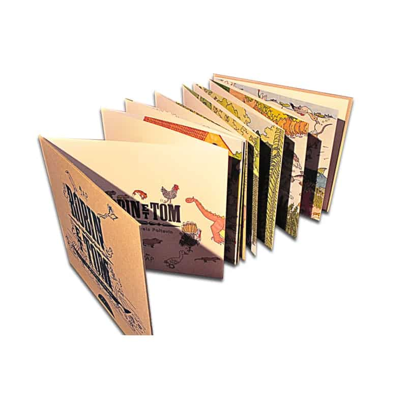 livre fresque robin et tom dans le marais poitevin